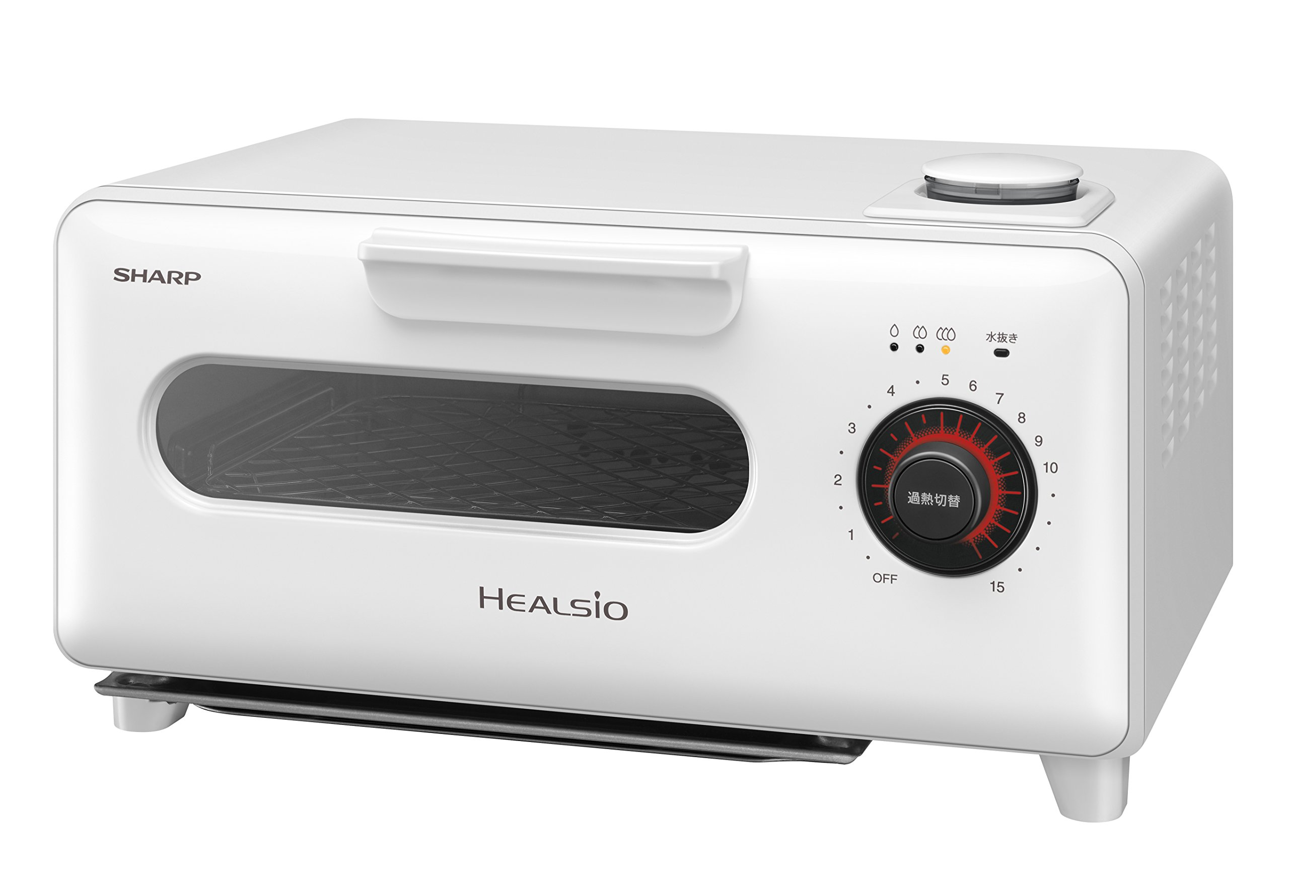 SHARP Water oven ''HEALSiO Gurie'' AX-H1-W (White)【Japan Domestic genuine products】