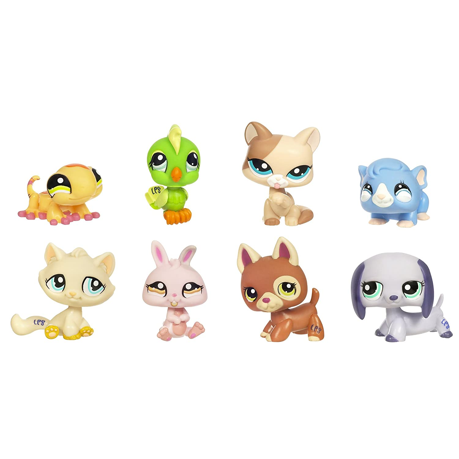 Salle De Bain Beton Bois ~ hasbro littlest pet shop pochette de 8 figurines collector exclusif