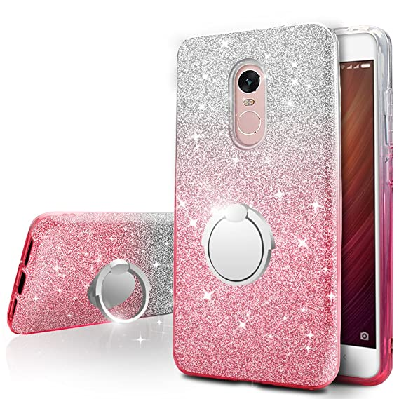 size 40 01119 e1a47 Amazon.com: Xiaomi Redmi Note 4 / 4X Case,Silverback Girls Bling ...