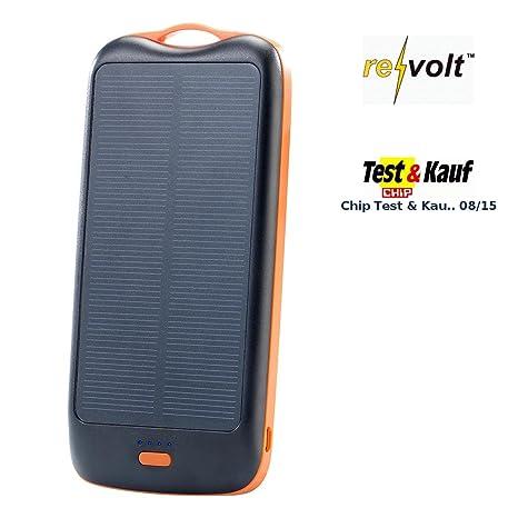 Revolt PB-50.s - Cargador Solar (5000 mAh, 1 Puerto USB ...