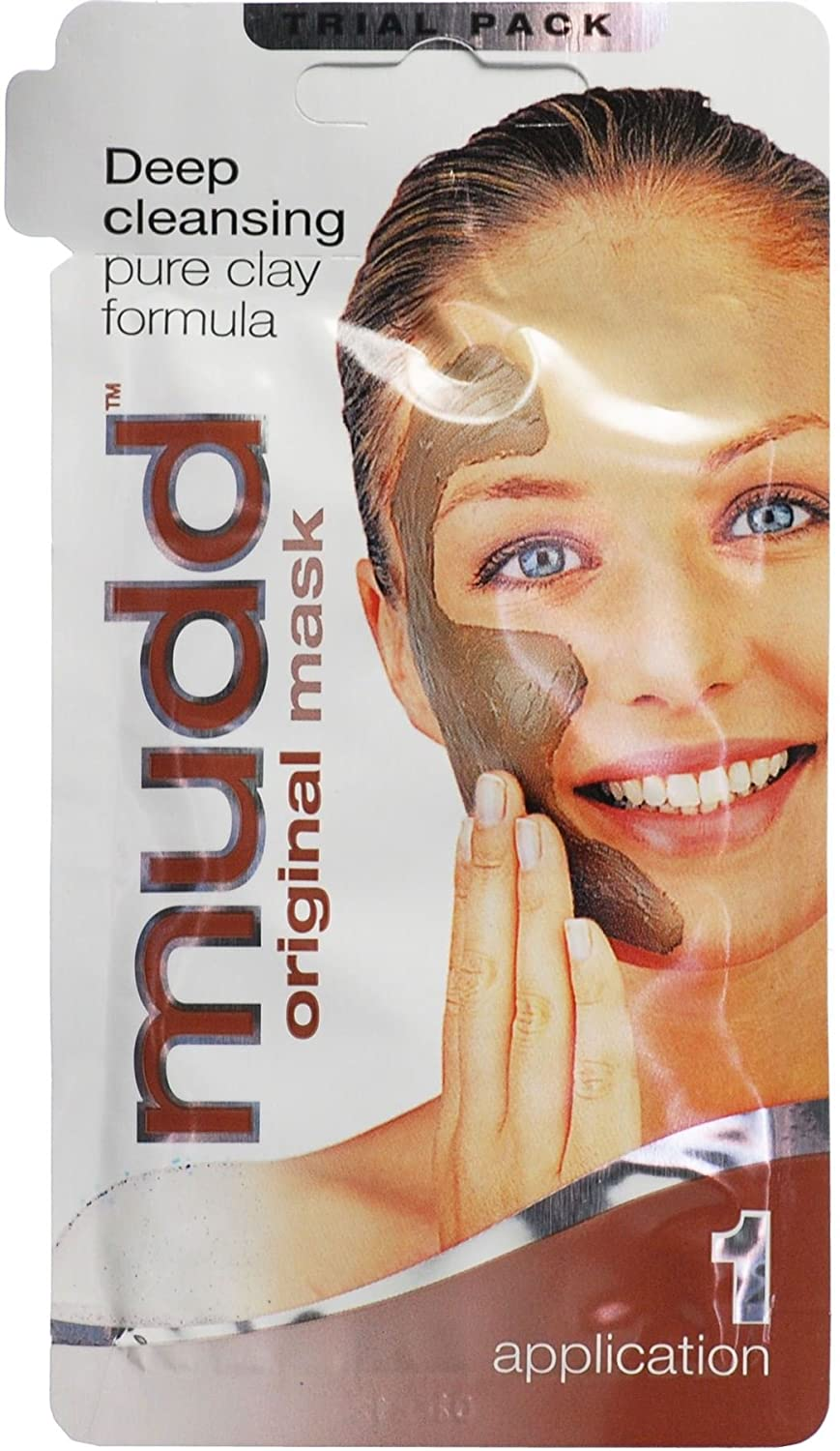 12 x Mudd Original Mask Deep Cleansing Pure Clay Formula 10ml