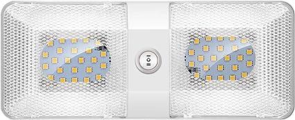 Kriogor 12v Led Lampen Dach Rv Dach Auto Innenbeleuchtung Mit Wohnmobilschalter Packen Von 1 Auto
