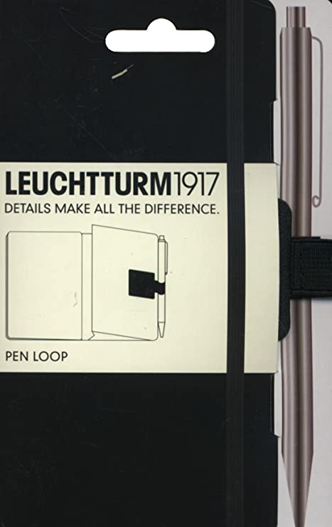 Leuchtturm Pen Loop, Black