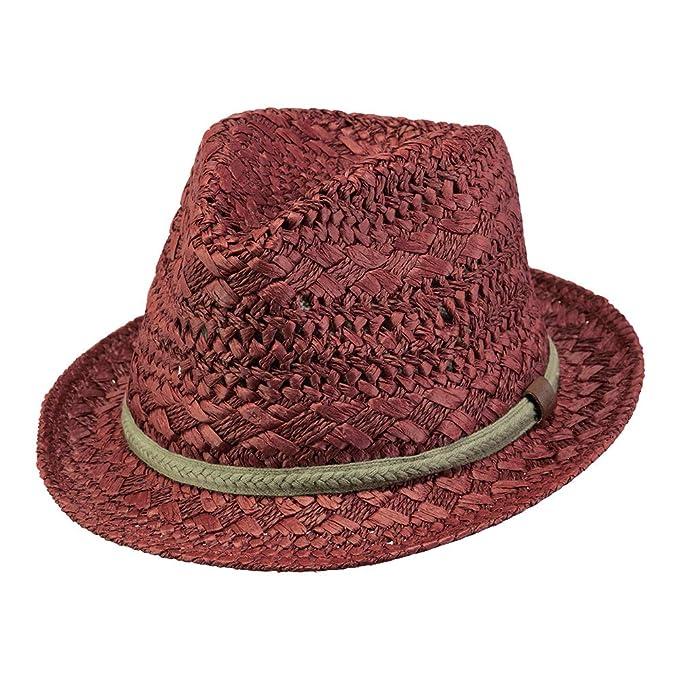BARTS Sombrero de paja sombrero señoras Ibiza con la cinta de la ...