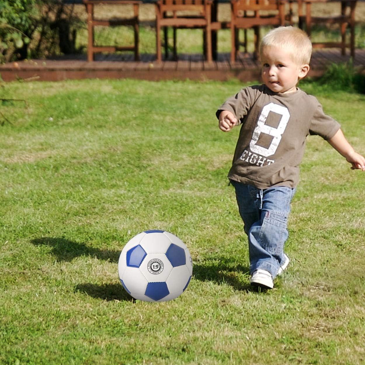 Leggero Mini Pallone da Calcio per Bambini per Interni ed Esterni YANYODO Misura 1,5