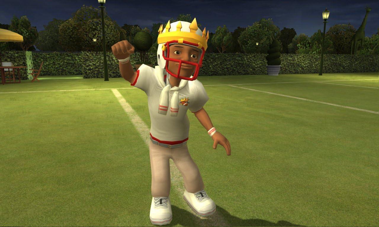 amazon com backyard sports football rookie rush xbox 360