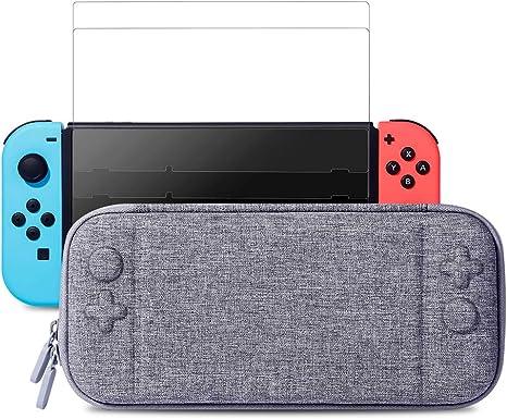 Amazon.com: MayBest - Funda fina para Nintendo Switch con 2 ...