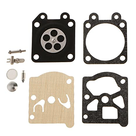 4x Carburador Junta De Reparación Del Diafragma Kit F / Zenoah G3800 Motosierra 45cc 38cc