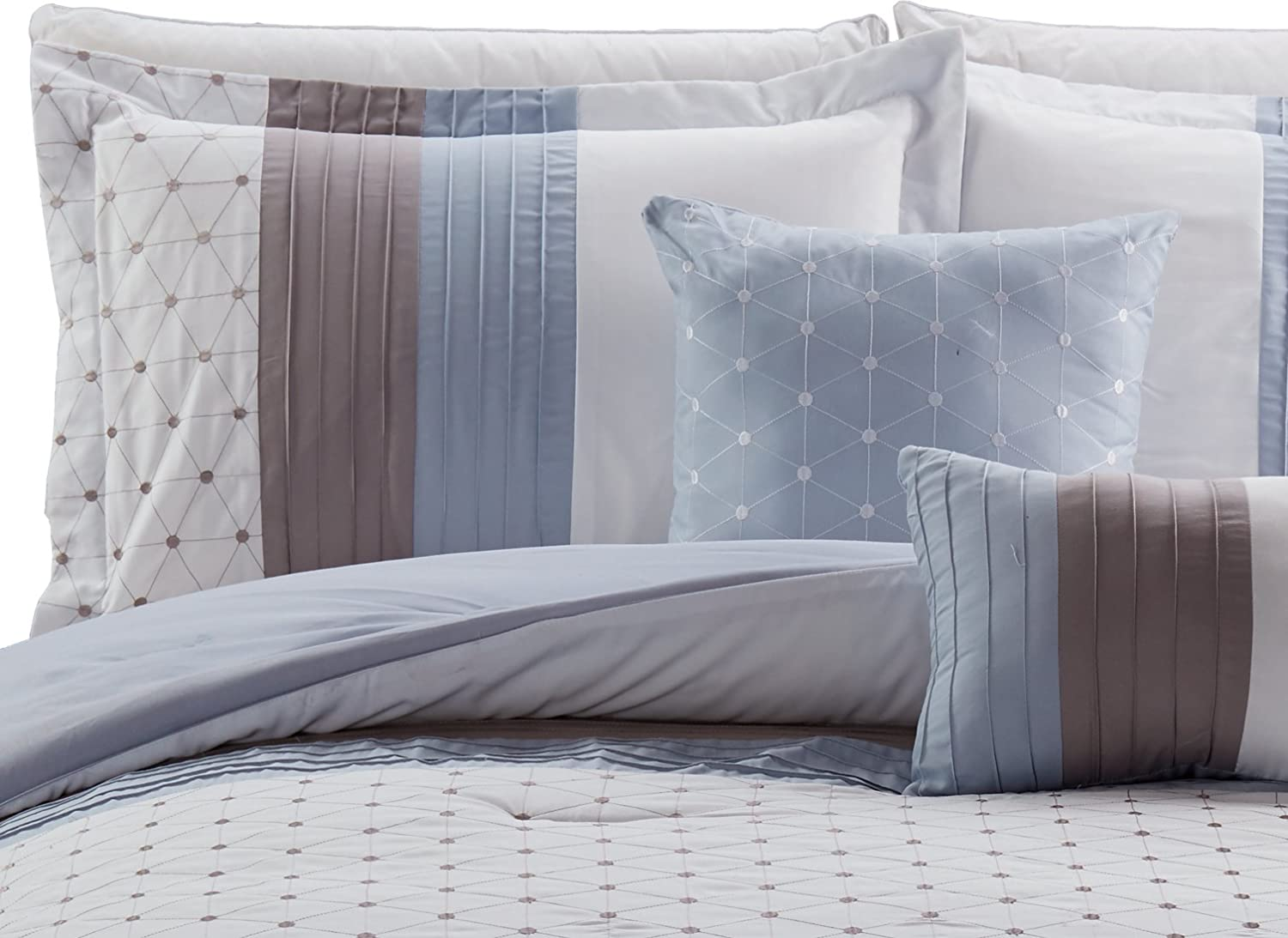 RT Designers Collection Westfield Embroidered Comforter Set King
