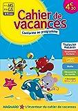 De la Moyenne section à la Grande section Cahiers de Vacances 2017