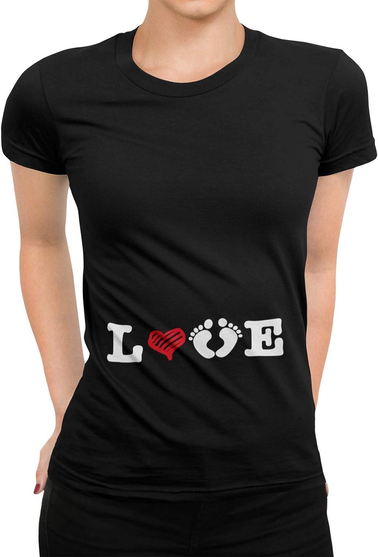 Camiseta de mujer para embarazo, 11 diseños a elegir, regalo de cumpleaños, Navidad