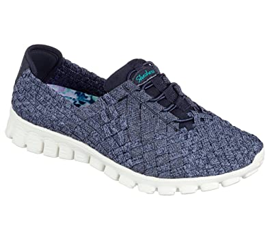 Skechers Sport Easy Flex 2 Pedestal Fashion Sneaker  Navy