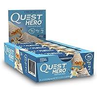 Quest Hero - Suplemento de Proteínas, Vainilla con Caramelo, 600 g