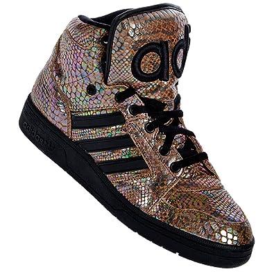 new styles 6a3c9 ca030 Adidas Originals Jeremy scott JS Instinct Hi Rainbow trainers UK 8.5:  Amazon.co.uk: Shoes & Bags