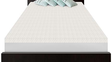 SensorPEDIC Slumber Supremo (5-zoned memoria colchón de espuma Topper, Full, blanco