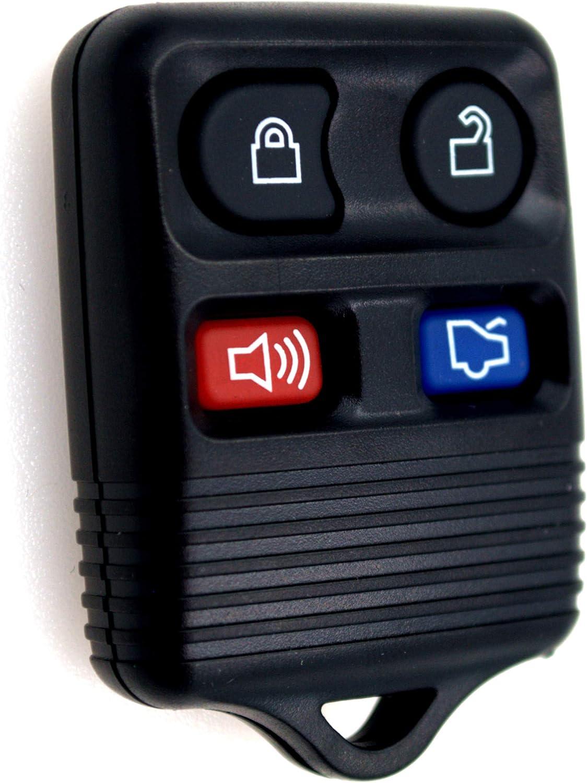 keyless entry remote control F87B-15K601-BA car transmitter alarm key fob keyfob