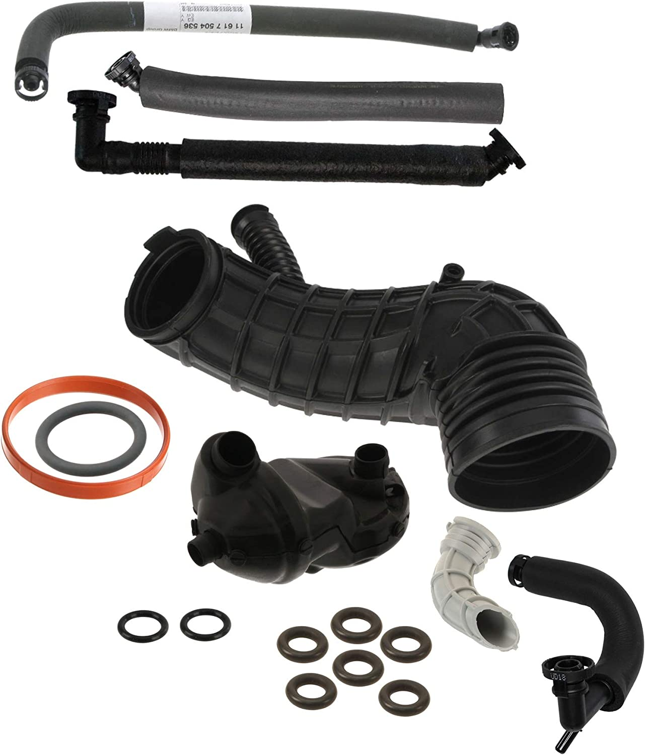 Cold Climate PCV Valve Breather System Kit for BMW E83 X3 3.0i