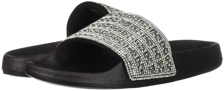 de17b19adaab Amazon.com  Skechers Women s Pops Up-Summer Rush-Rhinestone Shower Slide  Sandal  Skechers  Shoes