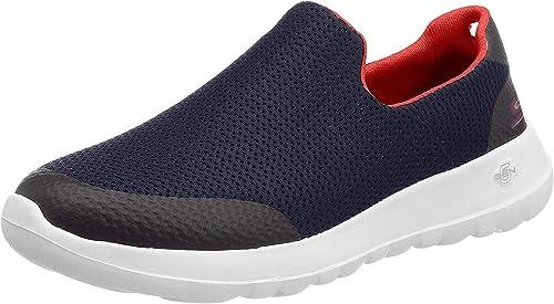 Skechers Herren Go Walk Max Focal Slip On Sneaker, Schwarz