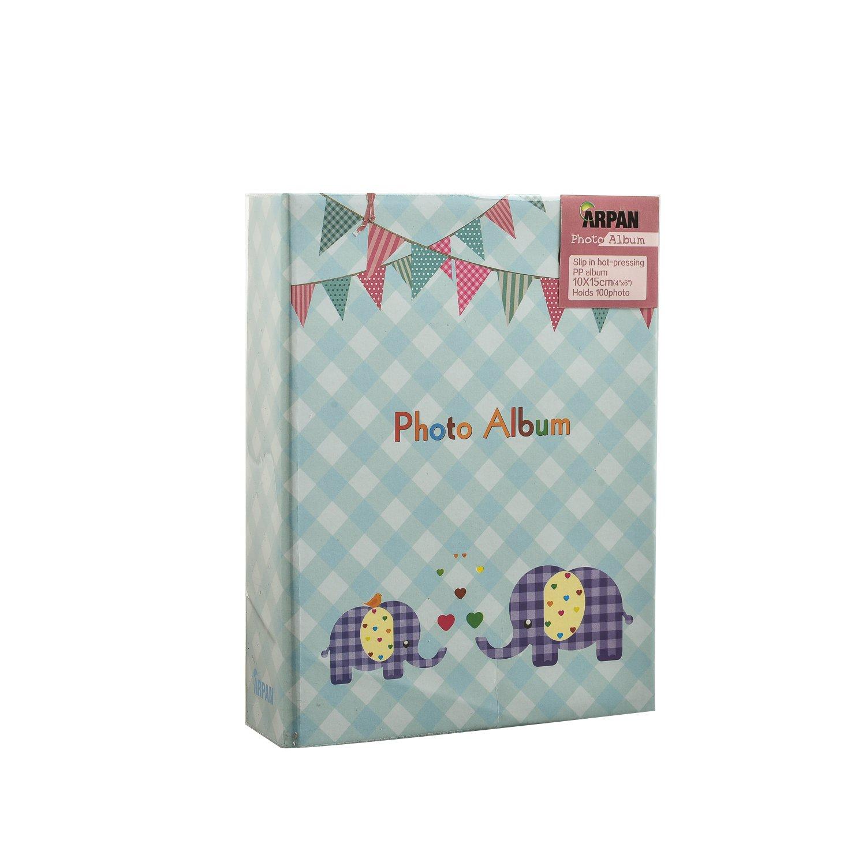Arpan 6x4'' Small Slip In Case Photo Album for 100 Photos Various Design & Colurs (BA-9777)