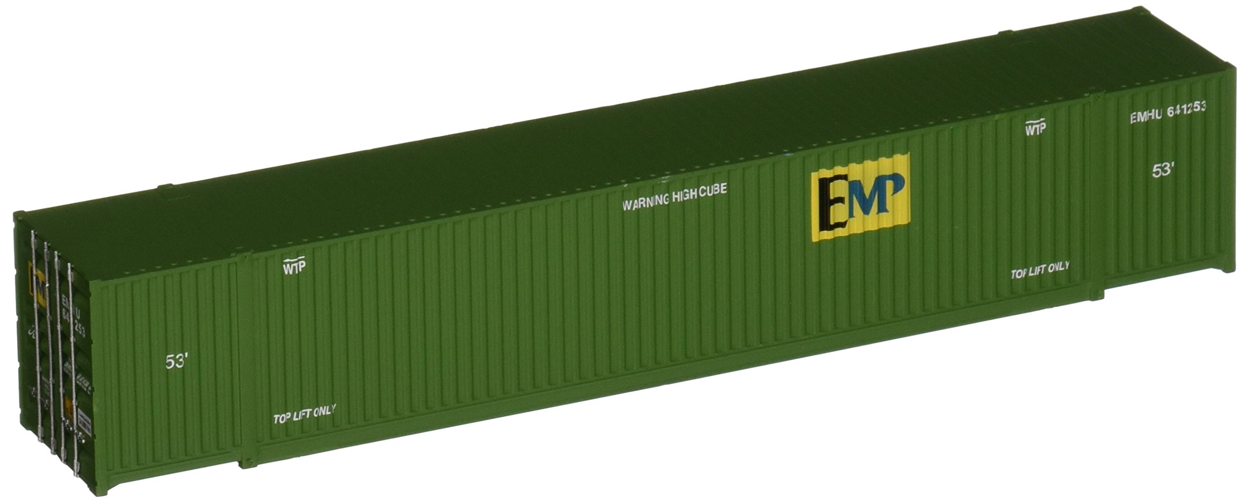Walthers SceneMaster Singamas EMP Corrugated-Side Container, 53'