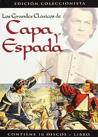 Pack Grandes Clasicos De Capa Y Espada [DVD]: Amazon.es: Varios ...