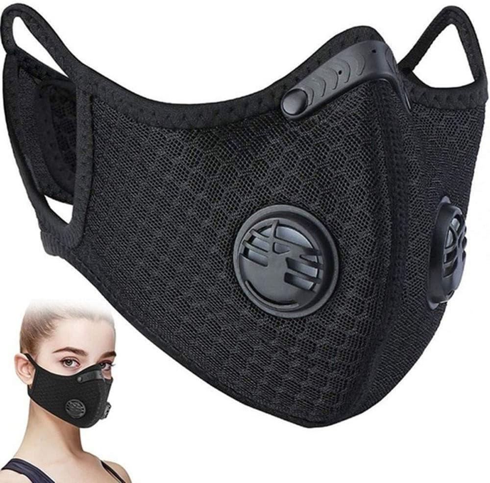 Q&N Anti-Polvo Ma SK desechable quirúrgica Salón Médico Earloop Cubrir la Boca de la Cara con Cuatro Reemplazar Filtro de algodón