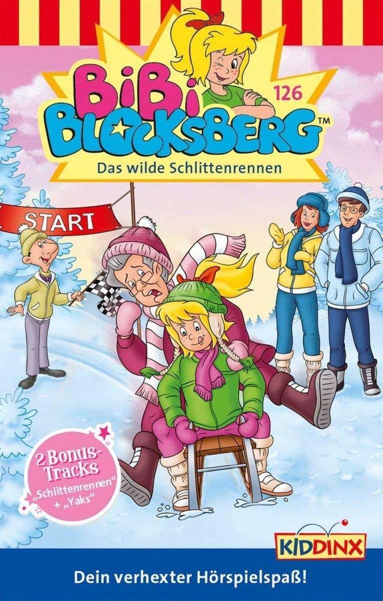 Bibi Blocksberg 126: Das wilde Schlittenrennen Hörkassette – Audiobook, 26. Oktober 2018 Kiddinx Entertainment Gmb B07DQ3Y95F empfohlenes Alter: ab 4 Jahre