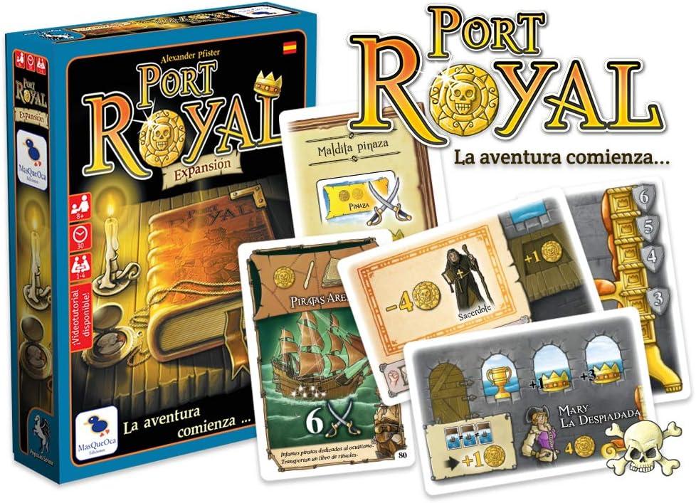 Ediciones MasQueoca - Port Royal Expansion Comienza la Aventura (Español)(Catalán): Amazon.es: Juguetes y juegos