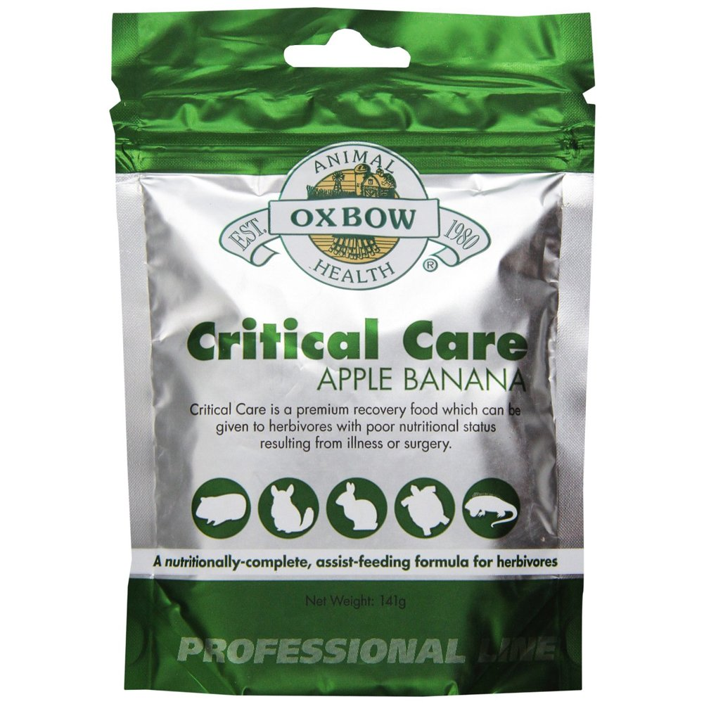 Oxbow Critical Care Apple/Banana Pet Supplement, 141gm [2-Pack]
