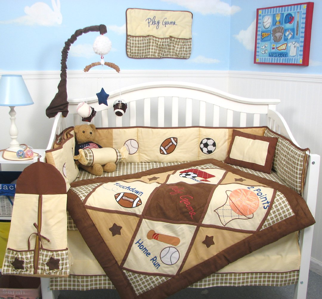 SoHo Let's Pad Play Game Baby Crib SoHo Nursery SoHo Bedding Set 13 pcs included Diaper Bag with Changing Pad & Bottle Case by SoHo Designs B0035CHO5O, マルツオンライン:2b7b8a2e --- ijpba.info