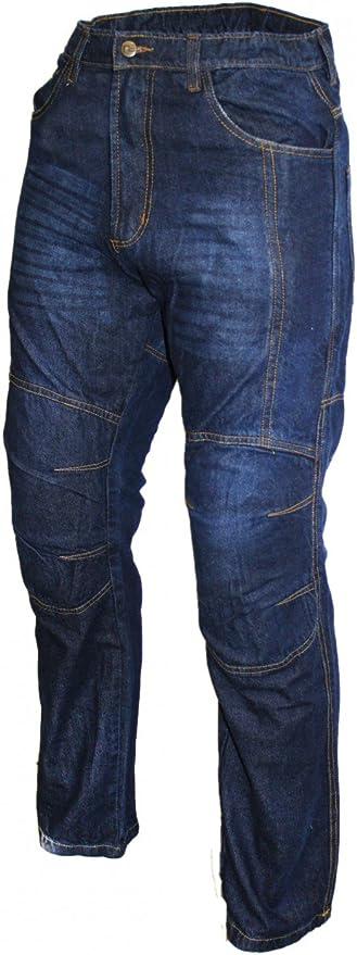 Denim Kevlar motocicleta Jeans motocicleta Pantalones ...