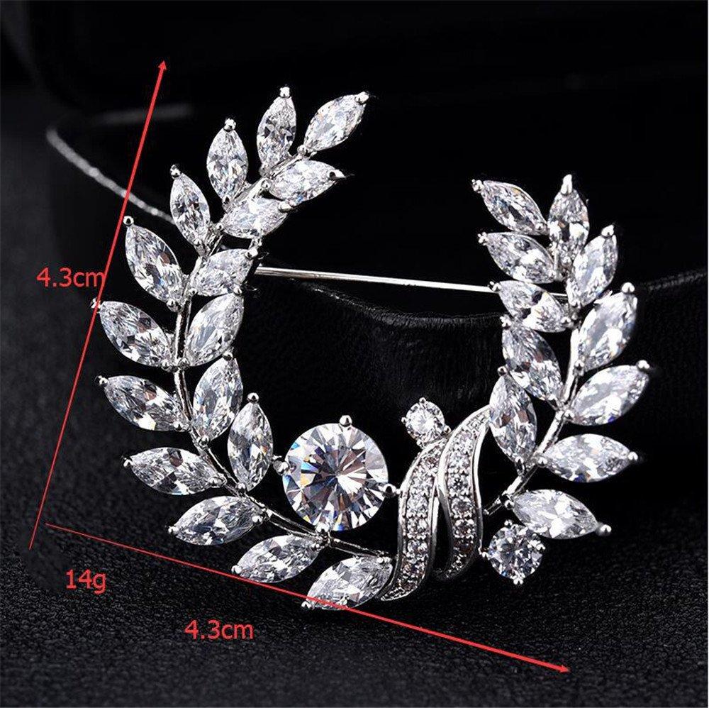 Garland Brooch Accessory Coat Pin Decorative Brooch Christmas Clothing Accessories MAFYU Brooch