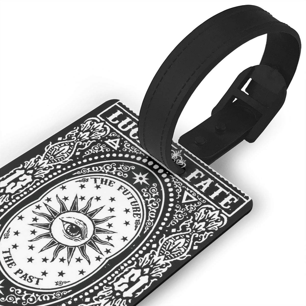 2 Pack Luggage Tags Tarot Card Travel Tags For Travel Tags Accessories