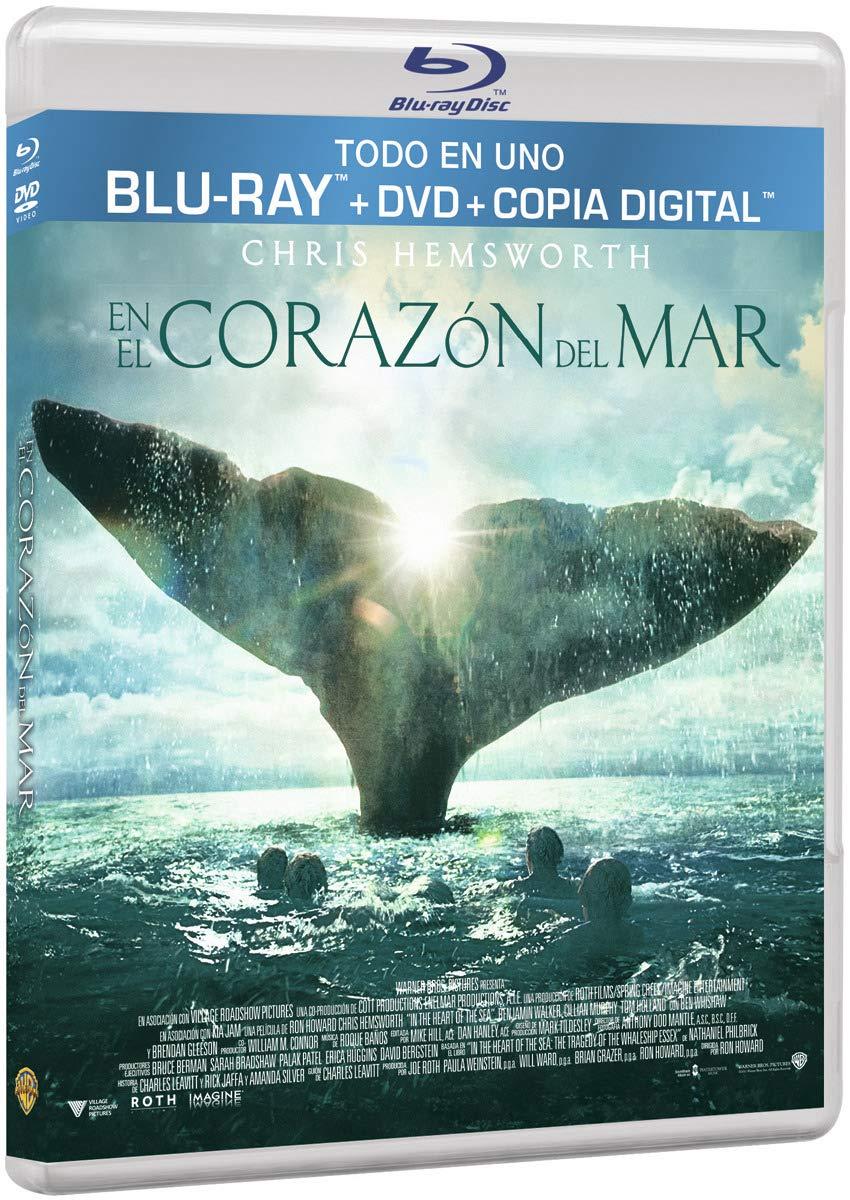 En El Corazón Del Mar (Dvd/Bd/Dc) [Blu-ray]: Amazon.es: Chris ...