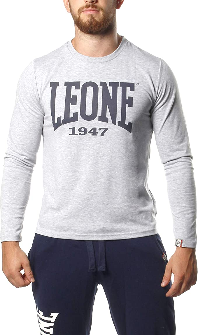 Maglietta Manica Lunga Uomo Leone 1947 Sport Fight Activewear LSM562