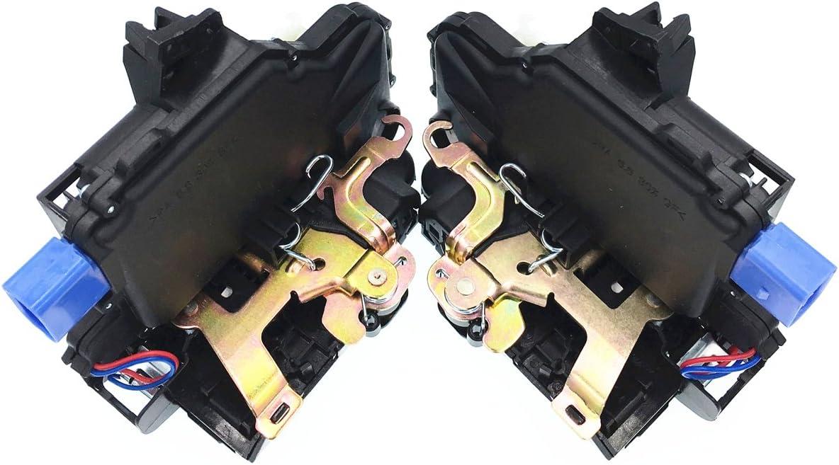 HZTWFC Accionador de cerradura de puerta delantera izquierda y derecha par OEM # 3B1837015AQ 3B1837016BC: Amazon.es: Coche y moto