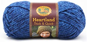 Lion Brand Yarn 137-109 Heartland Thick and Quick Yarn, Olympic