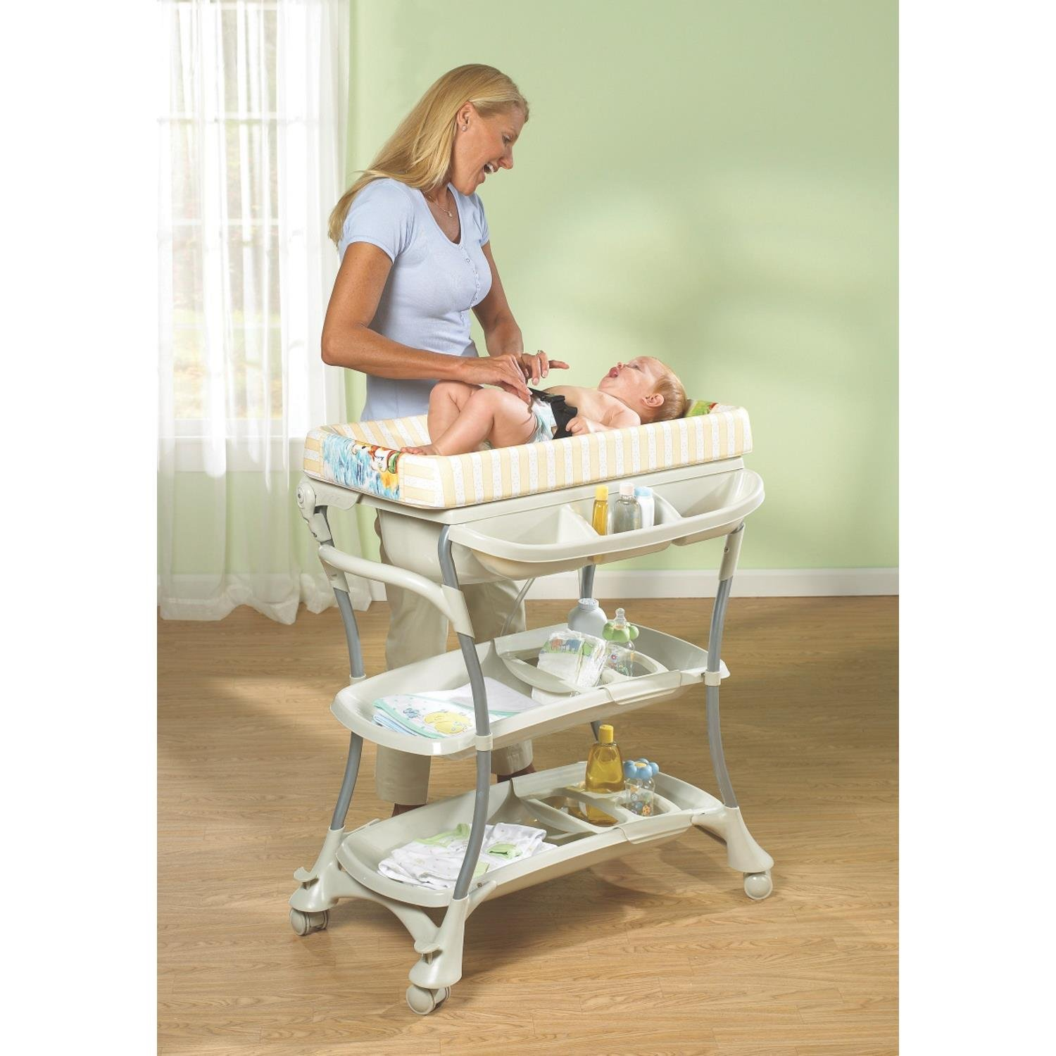 Beautiful Amazon.com: Primo Euro Spa Baby Bath And Changing Table: Health U0026 Personal  Care