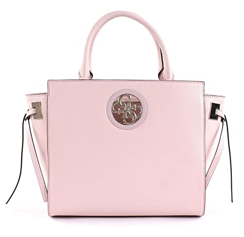 ac8bf9e5b GUESS Open Road Society Satchel Blush: Amazon.co.uk: Shoes & Bags