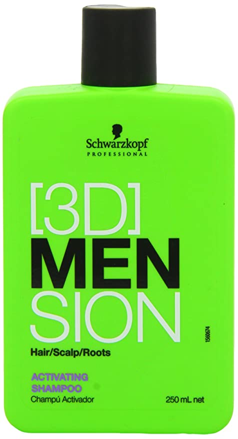 Schwarzkopf 3d Mension - Champu Anticaida - 250 ml