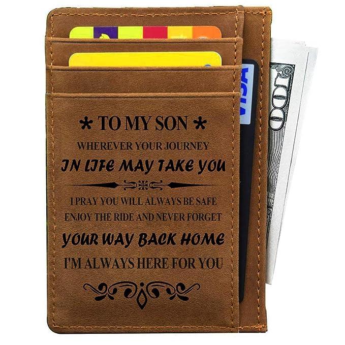 Amazon.com: My Son Regalos de mamá y papá para cumpleaños ...
