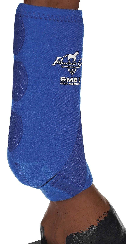 Professionals Choice Equine Smbii Leg Boot, Pair (Medium, Royal Blue)