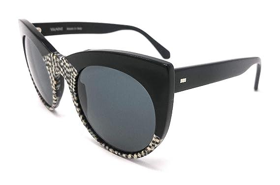 Vanni - Gafas de sol - para mujer Nero E Bianco 46: Amazon ...