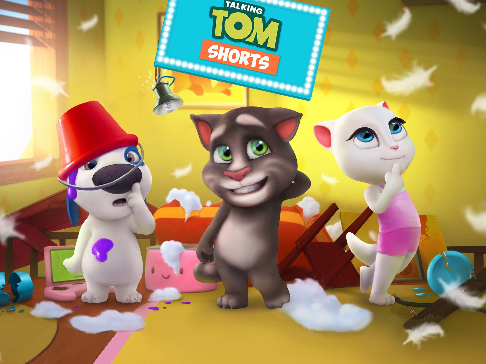 8479e2eb94f Amazon.com  Watch Talking Tom Shorts