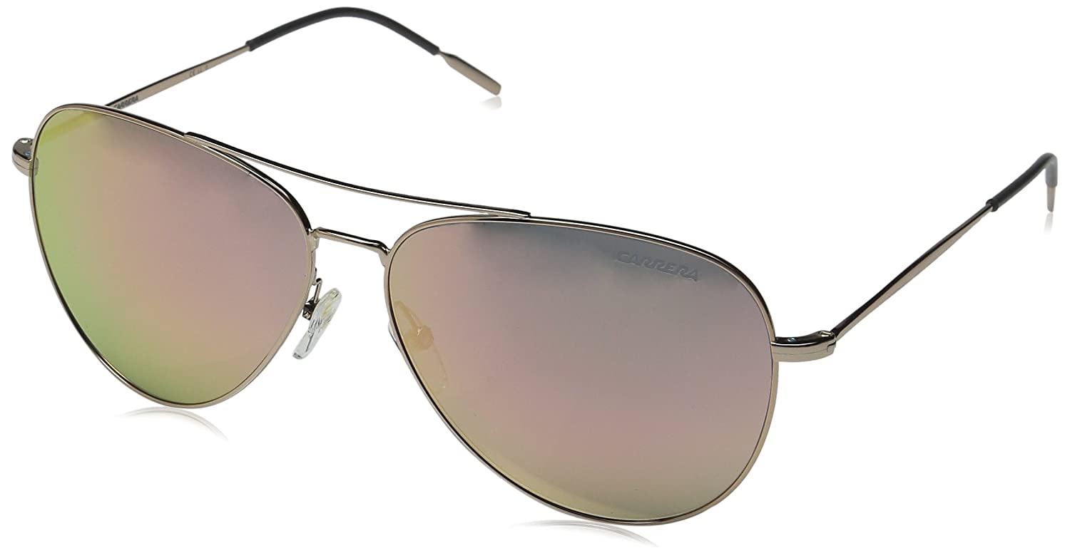 feef7af901 Amazon.com  Carrera Women s Carrera 106 S Gold Copper Rose Gold Mirror  Lens  Clothing