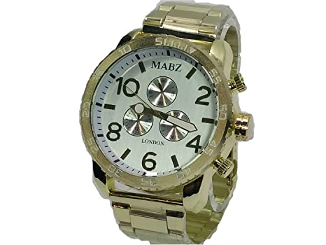 Jewelry & Watches Official Website Mabz Ladies Mechanical Skeleton Black/ Brown Leather Strap Watches