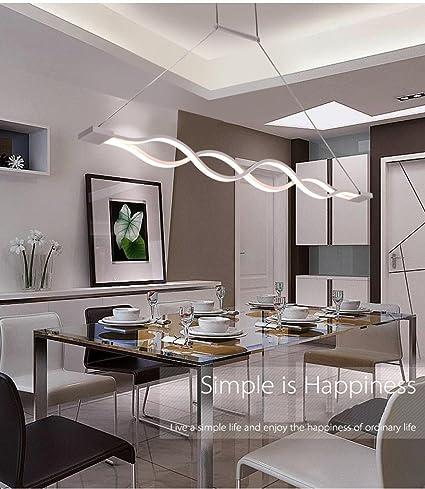 Rts Acrilico 60W bianco di 30W LED lampadari moderno per la camera ...