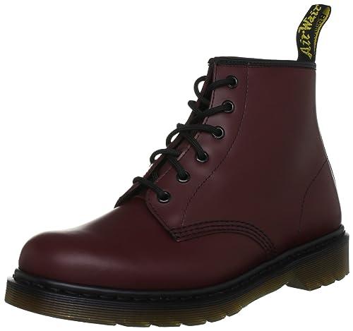 ede776db214372 Dr. Martens 101 PW Smooth Unisex-Erwachsene Stiefel   Stiefeletten ...