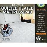 Amazon Com Sunbeam Twin Xl Heated Mattress Pad Home